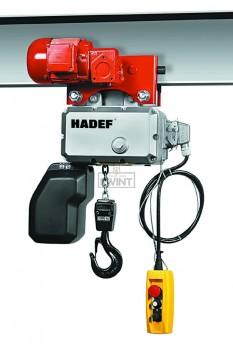 Hadef Professional Line 62/05E met elektrische loopkat