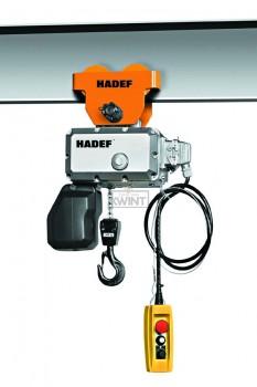 Hadef Professional Line 62/05R met duwloopkat