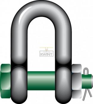 Green-pin D-moerbout sluitingen