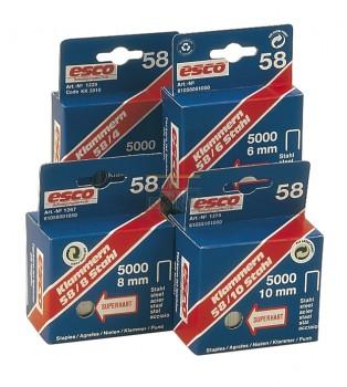 Nieten Rapid 58 8 mm 5000 stuks (voor de Esco 58)