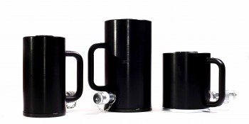 F.P.T. enkel werkende cilinders CSE-Aluminium