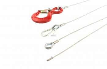 Handlier lierkabel 2 t/m 4mm