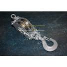 CAH TOUWBLOK 2-SCHIJFS 100MM 500 KG WARTELHAAK (outlet)