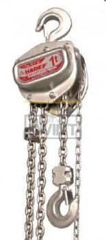 Hadef Premium Line RVS handkettingtakels 9/12 (Slipkoppeling)