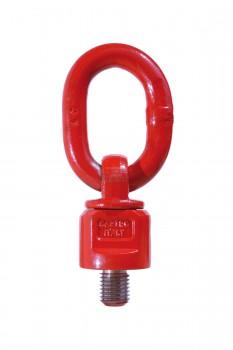 Cartec grade 80 Type 800 UNC Oogschroefbouten met ring, wartelend