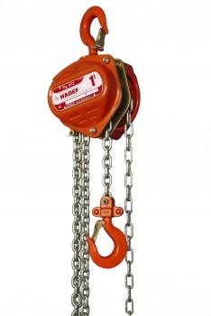 Hadef Premium Line handkettingtakels 9/12 (Slipkoppeling)