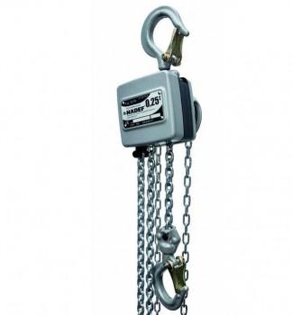Hadef Professional Line aluminium handkettingtakels 10/19