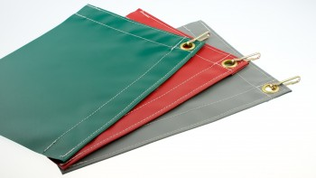 Polyester kleed mat per meter gezoomd (configurator)