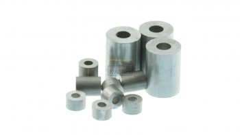 Aluminium eindklemmen