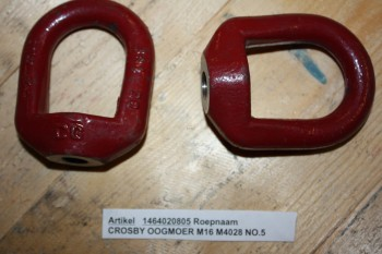 CROSBY OOGMOER M16 M4028 NO.5 WLL 1,49 t (outlet)