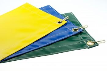 Polyester kleed hoogglans per meter gezoomd (configurator)