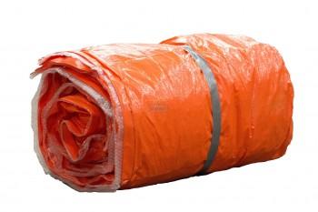 Isolatiekleden Oranje Isolatie waarde R = ca. 0,23 (2 lagen noppenfolie)