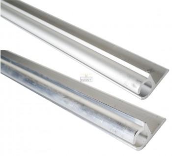 Aluminium caravan rail & pees