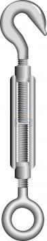 Spanschroeven DIN1480 haak-oog
