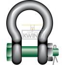 Green-pin Harp-moerbout sluitingen