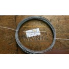 30 meter 3/4 mm pvc omspoten staalkabel 6x7 (outlet)
