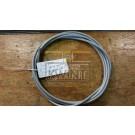 6 meter 8/10 mm pvc omspoten staalkabel 6x19 twk (outlet)